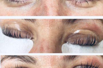 Lash-Lifting und Lash-Botox