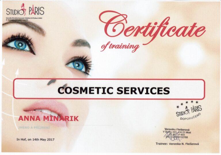 Zertifikat Kosmetik